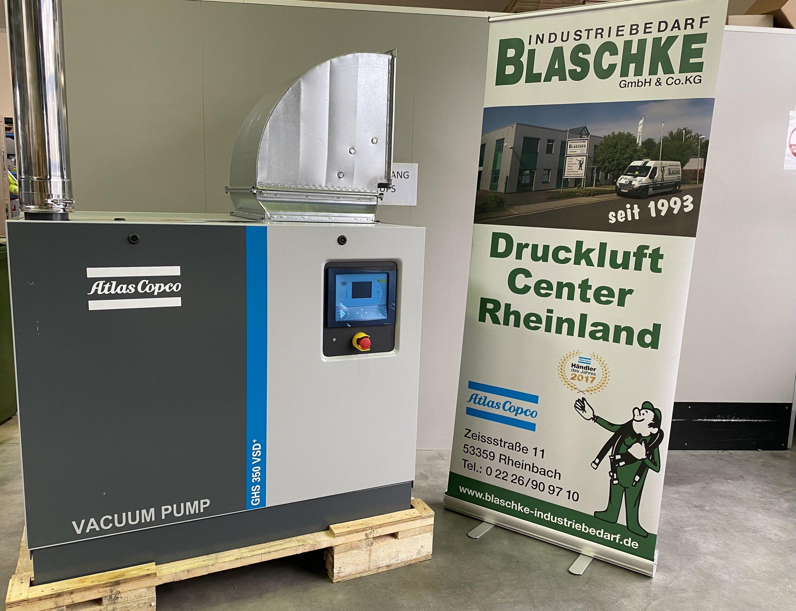 Read more about the article Umbau Vakuumanlage Januar 2021